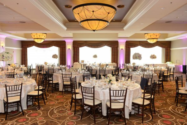 The Tiffany Ballroom at Four Points by Sheraton Norwood - The Perfect Reception Banquet Hall