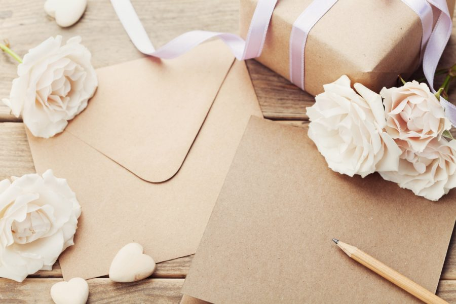 setting up wedding registry